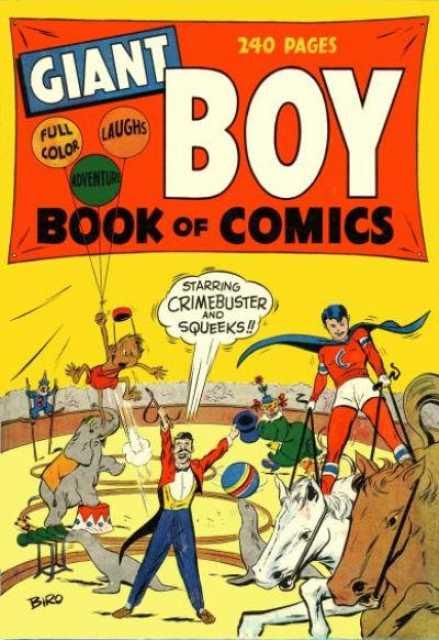 Giant Boy Book of Comics