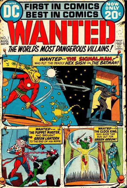 Wanted, The World's Most Dangerous Villains