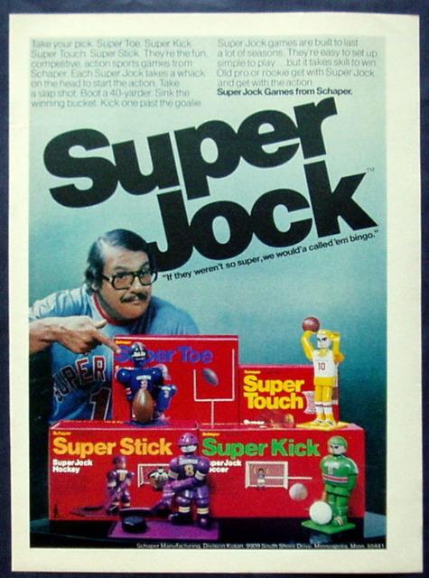 Super Jock- I had the basketball player