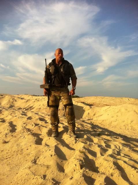 Roadblack as he appears in G.I Joe: Retaliation played by Dwayne Johnson