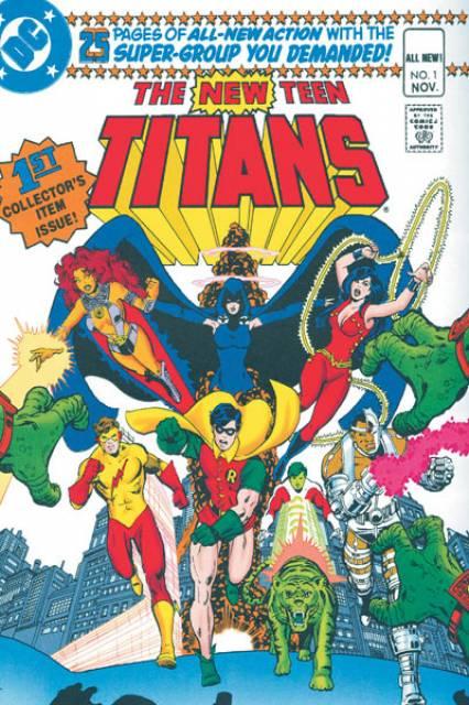 The New Teen Titans Omnibus