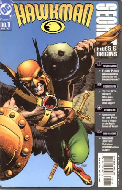 Hawkman Secret Files and Origins