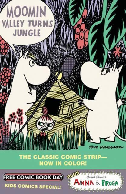 Anna & Froga/Moomin Valley Turns Jungle