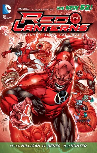 Red Lanterns: Blood and Rage