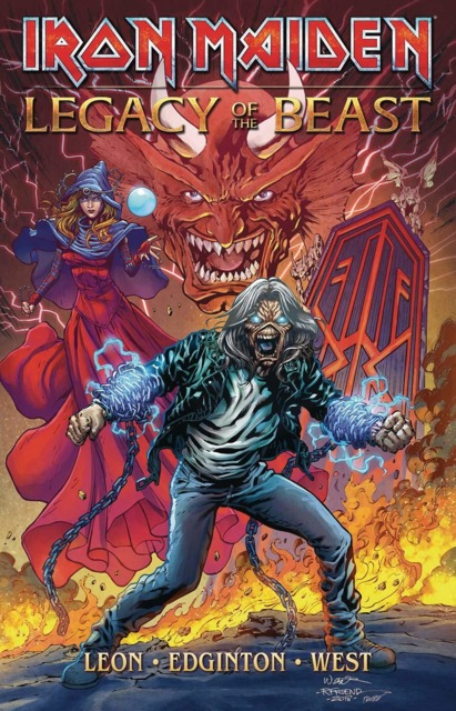Iron Maiden Legacy of the Beast Expanded Edition