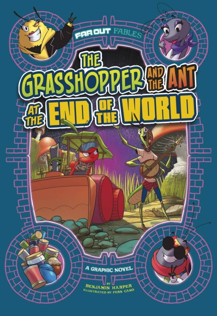 Far Out Fairy Tales: Grasshopper and the Ant at the End of the World