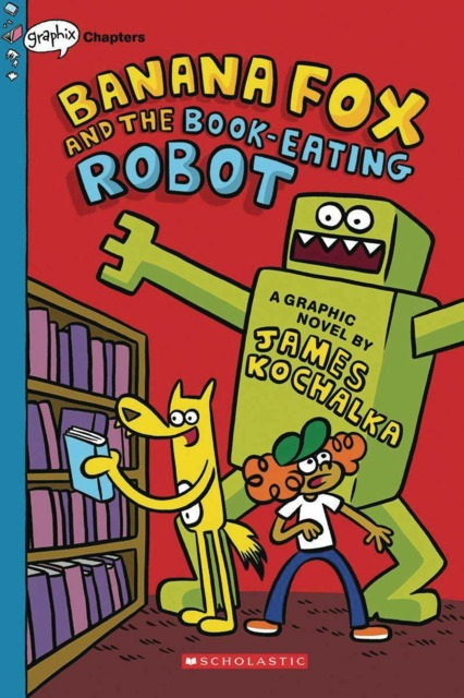 And the Book-Eating Robot