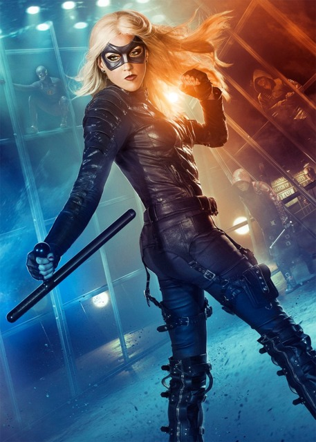 Katie Cassidy as the Black Canary