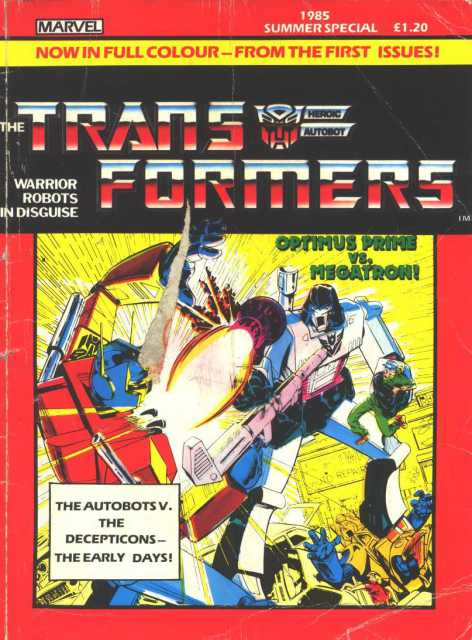 Transformers Collected Comics