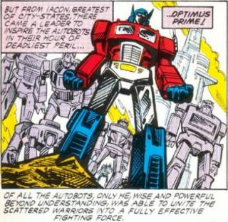 The new Autobot leader.