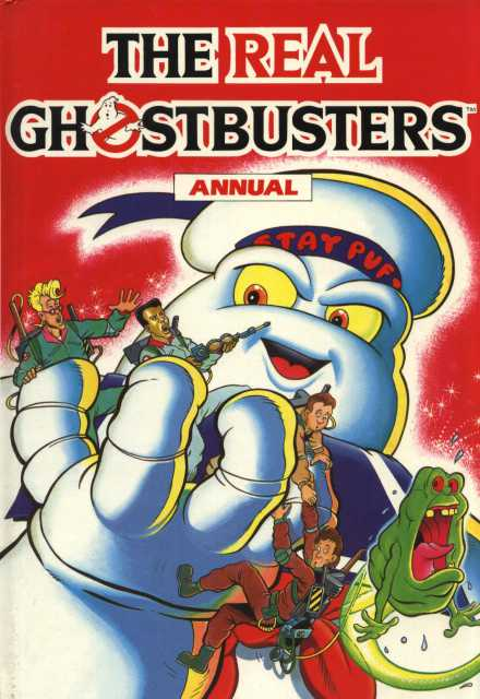 The Real Ghostbusters Annual