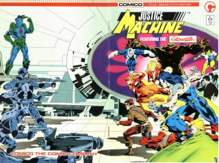 Justice Machine featuring The Elementals