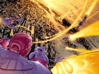 Ultimate Universe Sentinels take flight