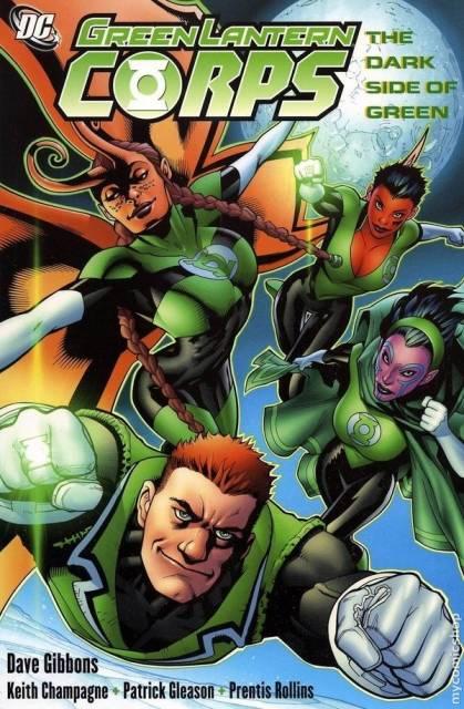 Green Lantern Corps: The Dark Side of Green