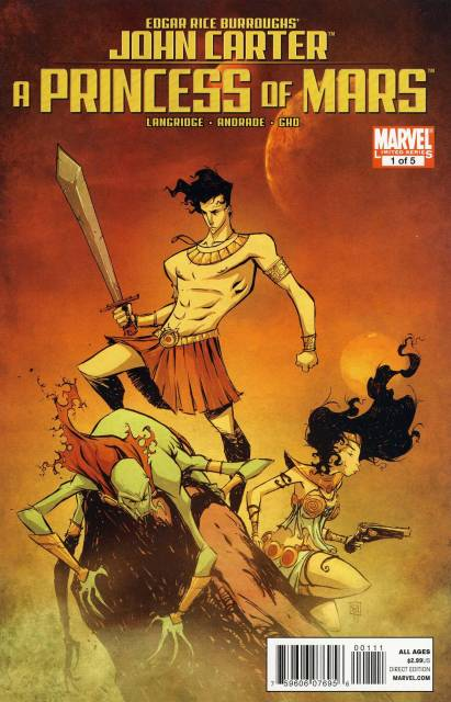 John Carter of Mars: A Princess of Mars