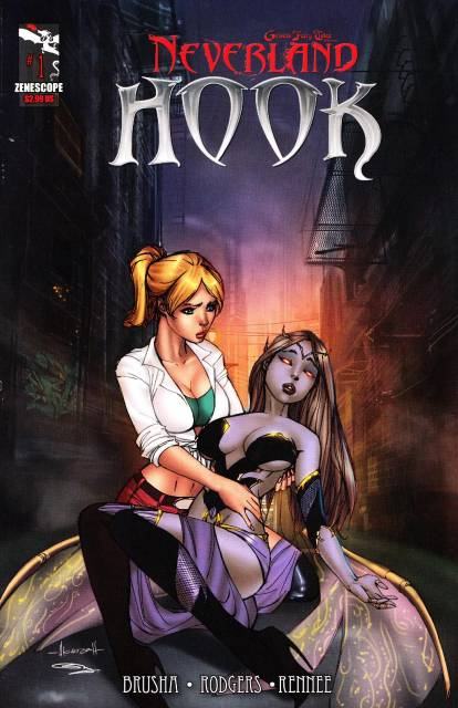 Grimm Fairy Tales Presents Neverland: Hook
