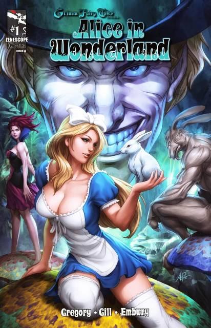 Grimm Fairy Tales presents Alice In Wonderland