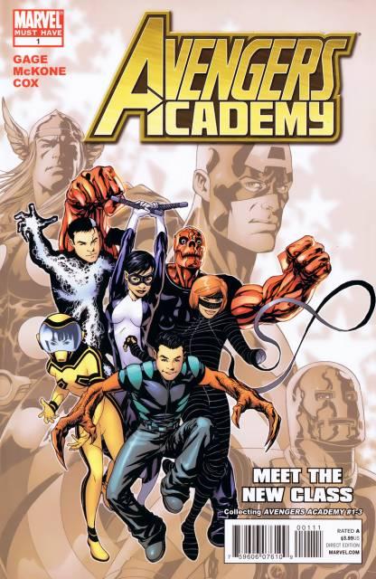 Avengers Academy: Meet the New Class