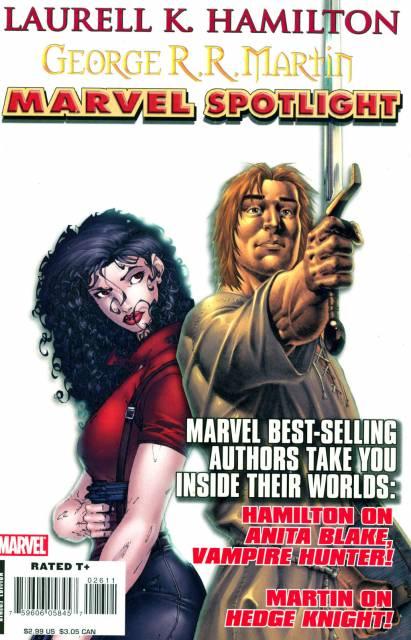 Marvel Spotlight: Laurell K. Hamilton/George R.R. Martin
