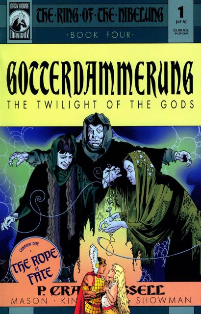 The Ring of the Nibelung: Gotterdammerung (Book Four)