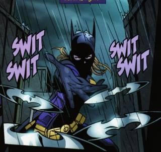 Taking Batgirl mantle