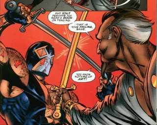 Bane with Ra's Al Ghul