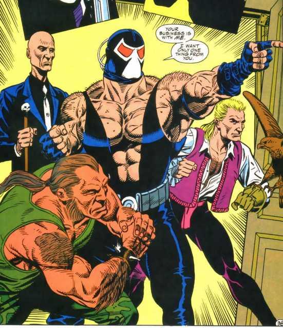 Bane and his gang