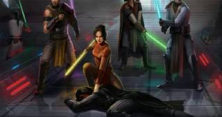 Jedi strike team capturing Darth Revan
