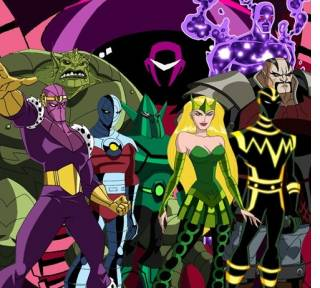 EMH Masters of Evil (formed by The Enchantress)