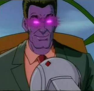 Purple Man's true form