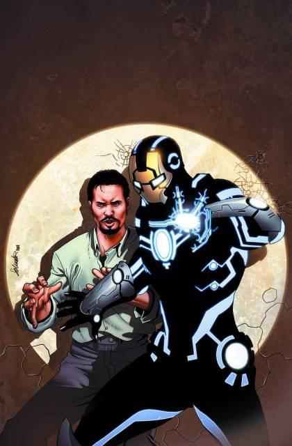 Rhodey's new Iron Man armor