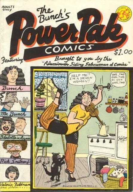 Bunch's Power Pak Comics