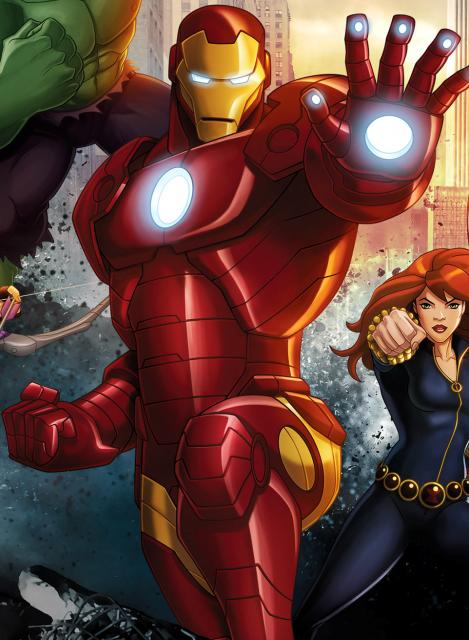 Iron Man in Avengers Assemble