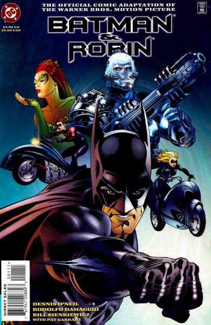 Batman & Robin - The Official Comic Adaptation