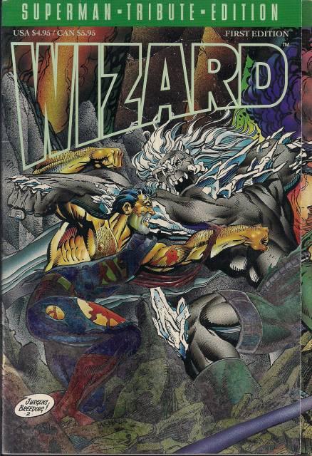 Wizard: Superman Tribute Edition