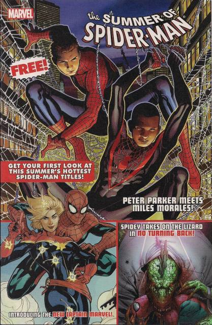 The Summer of Spider-Man Sampler