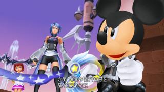 Aqua and Mickey