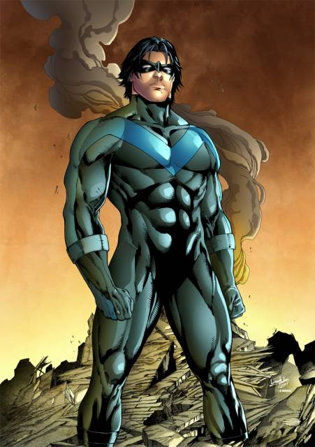 Dick as Nightwing
