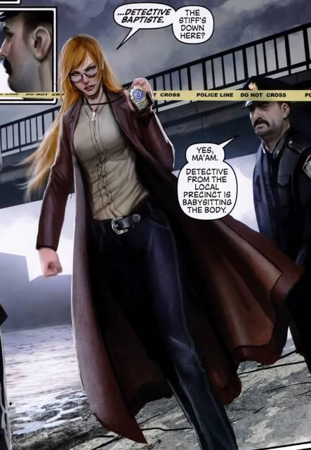 Detective Baptiste