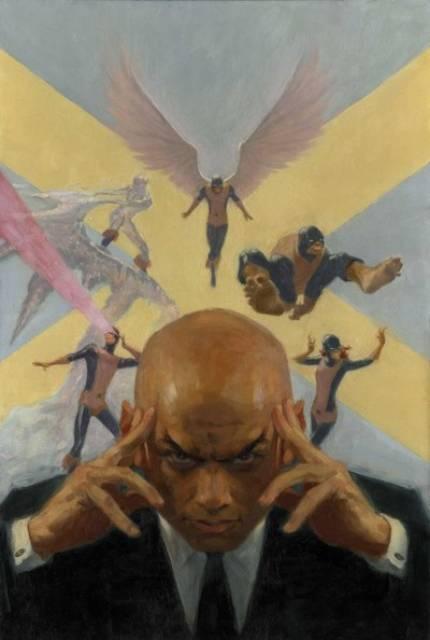 Professor X and his original X-Men