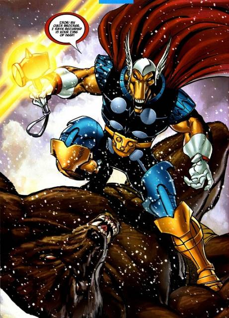 Beta Ray Bill Joins the Battle