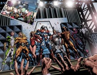 Sentry joins the Dark Avengers