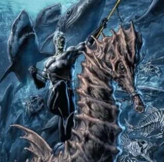Aquaman as a Black Lantern