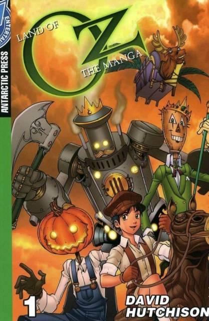 Land of Oz the Manga