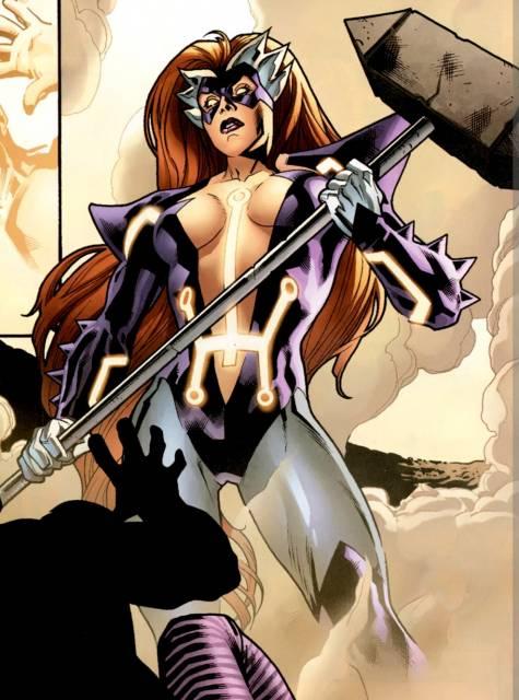 Titania becomes Skirn, Breaker of Men