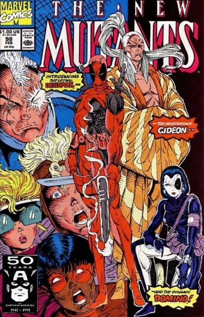 Deadpool's First Appearance.