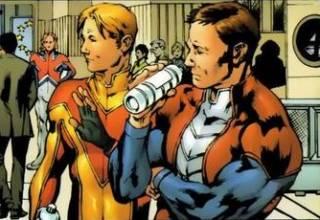 Captain Spain (left)