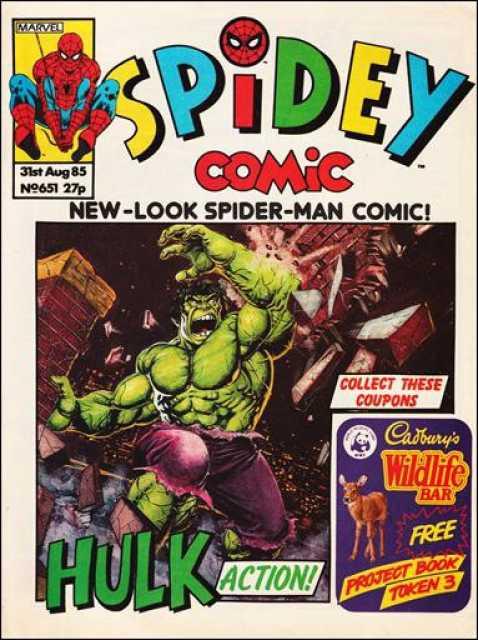 Spidey Comic
