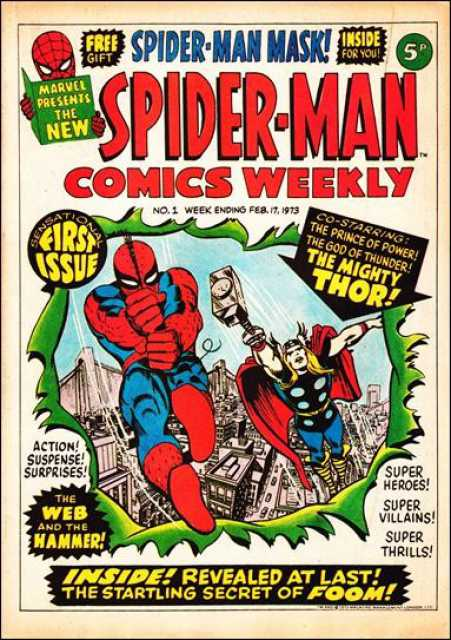 Spider-Man Comics Weekly