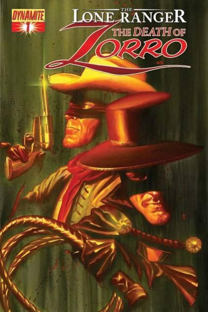 The Lone Ranger & Zorro: The Death of Zorro